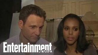 Scandal Kerry Washington & Tony Goldwyn On Romance & More Cover Shoot Entertainment Weekly