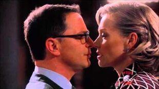 Elizabeth North David Rosen kissing scene