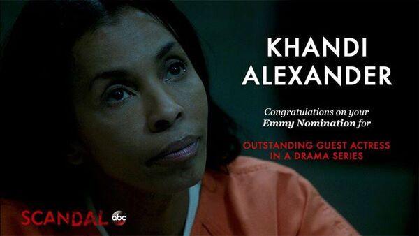 2015 Emmy - Khandi Alexander Nomination 01