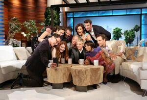 2014 Scandal on The Ellen Show - Scandal Cast 03