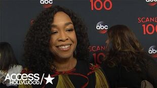 'Scandal' 100th Episode Celebration Shonda Rhimes 'Really Proud' On Reaching Milestone