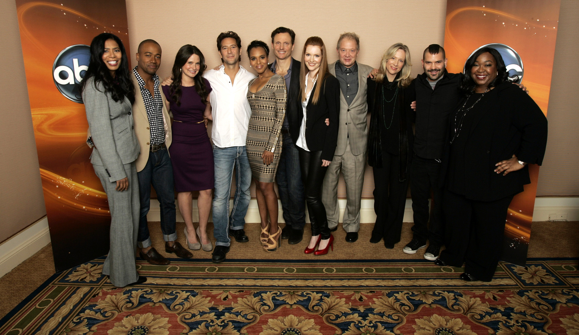 Image - 2012 Winter TCA Panel - Scandal Cast and Crew 02.jpg ...