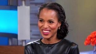 "Kerry Washington ""SCANDAL"" Interview"