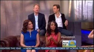 Scandal cast on GMA 5 14 13