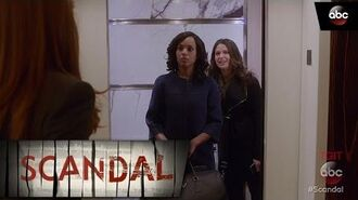 Olivia Makes Abby Take The Stairs - Scandal