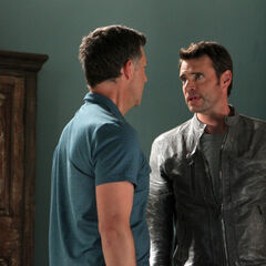 Jake Ballard asks Charlie for help - to find out who started Lazarus 1