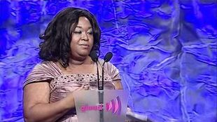 Shonda Rhimes Accepts Golden Gate Award at the glaadawards