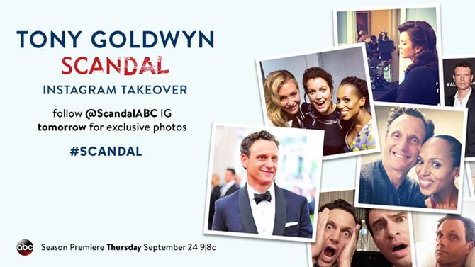 2015 Scandal Instagram Takeover - 01 Tony Goldwyn