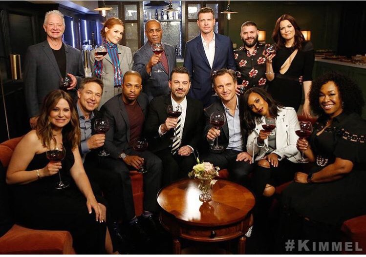2018 Scandal Cast on Jimmy Kimmel Live!   Scandal Wiki