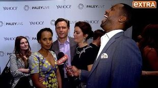 Watch Kerry Washington's Interview Get Crashed By Her 'Scandal' Co-Stars!