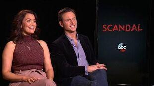 'Scandal' Bellamy Young & Tony Goldwyn Tease Show's Midseason Return