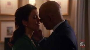 Scandal 7x05 Mellie Kisses President Rashad