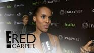 """Scandal"" Cast Weighs In on Show's Presidential Race Live from the Red Carpet E! News"