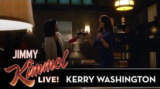 Kerry Washington on Scandal & Popcorn