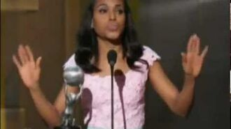 Tony Goldwyn Presents Kerry Washington With NAACP Image Award