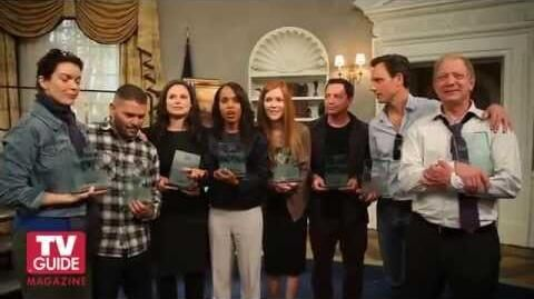 TV Guide Surprises The Scandal Cast With Fan Favorites 2013