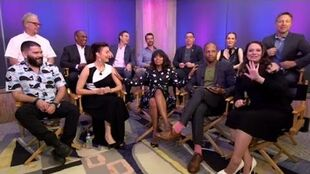 Scandal Cast Facebook live 18.05