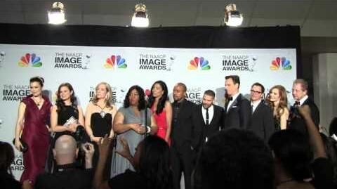 "The cast of ABC""Scandal"" Wins Award at 44 NAACP Image Awards 2013 & speak in Press Room"
