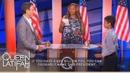 """Tony Goldwyn Plays """"Name That President"""" on The Queen Latifah Show"""