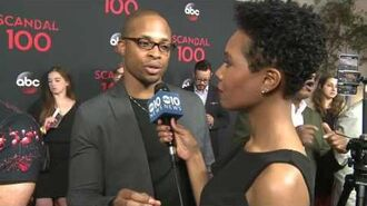 Cornelius Smith Jr. gets turnt up on the red carpet