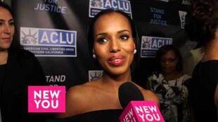 Scandal star Kerry Washington talks Health, Fashion, and Scandal's big Finale