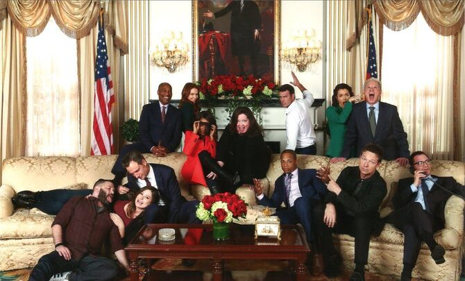 2018 Scandal Set Photo Shoot - Cast and Crew 01