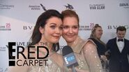 "Bellamy Young & Darby Stanchfield on ""Scandal"" Final Season E! Live from the Red Carpet"