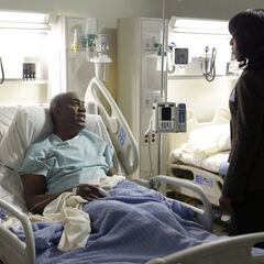 Rowan asks his daughter Olivia Pope for help and then tells her that someone is trying to kill him