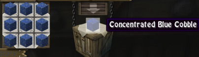 Conc blue cobble