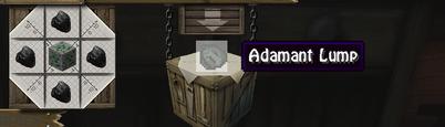 Adamant lump