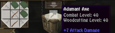 Addy axe