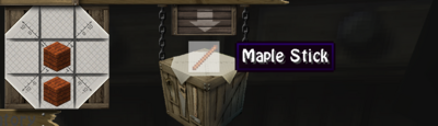 Maple stick
