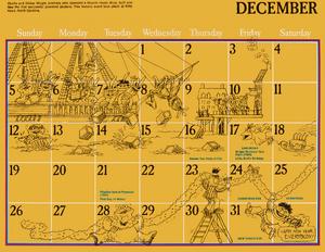 1976 sesame calendar 12 december 2