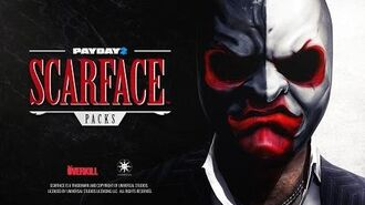 PAYDAY 2 Scarface Packs Trailer