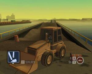 Bulldozer-Front