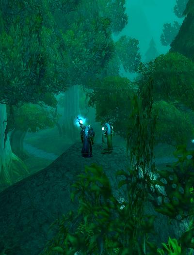 Elders in moonglade