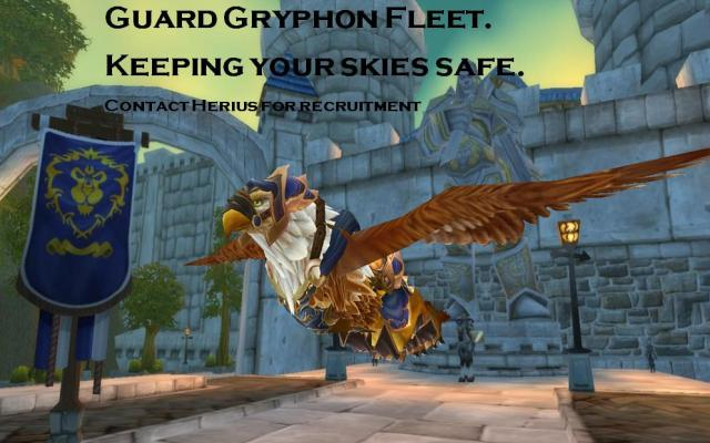 Gryphon Wing Recruitment