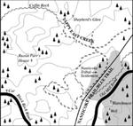 Karte Black Hills Forest