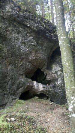 Räuberhöhle Schmölle
