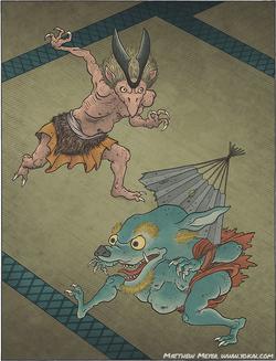 Hasamidachi und Furuōgi