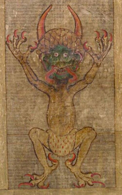 Codex Gigas Teufel