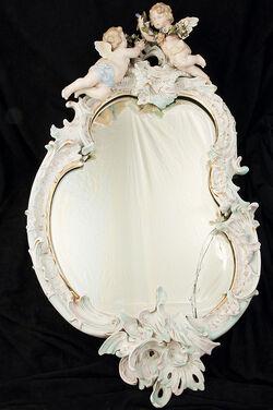 Wertvoller Spiegel