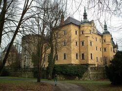 Schloss bei Plathe