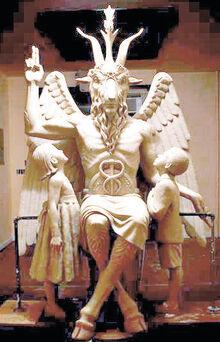 Satansstatue