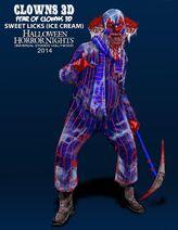 Konzeptart Horror-Clown 5