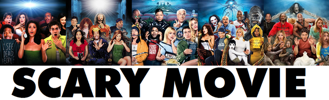 SCARY mOVIE bANNER'
