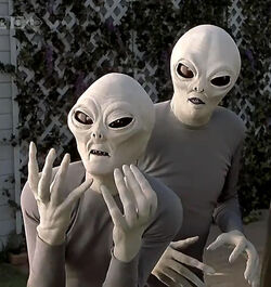 Scary Movie Aliens