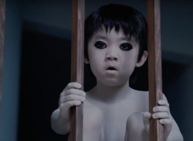 Toshio from a Japanese horror film