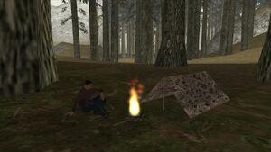TentCampfire