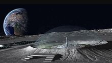 Moon domes